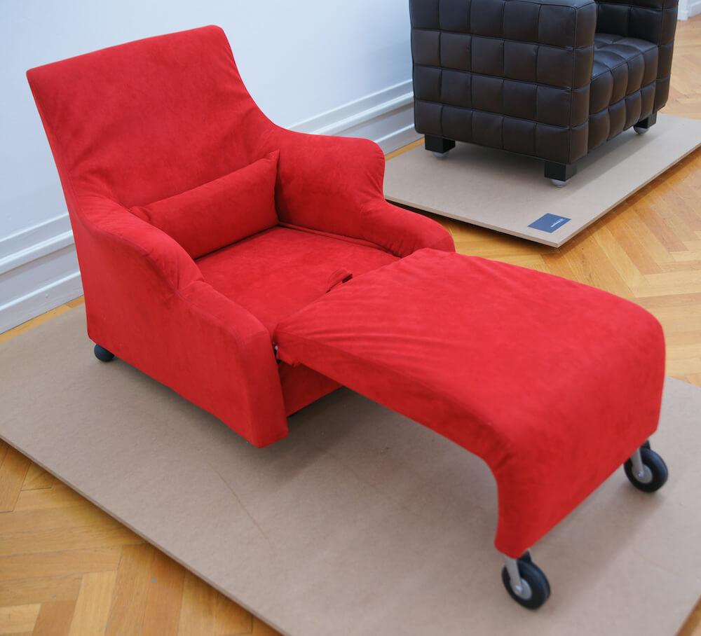 Een voorbeeld van een chaise longue